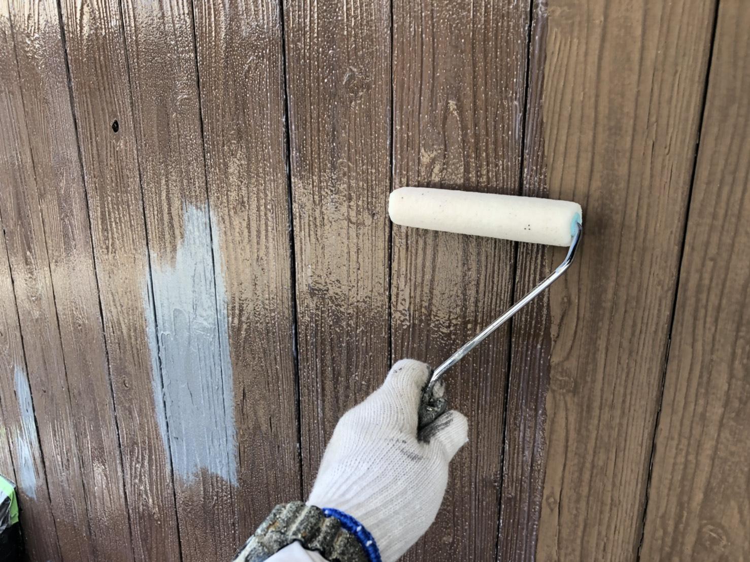 外壁塗装 佐賀 木部