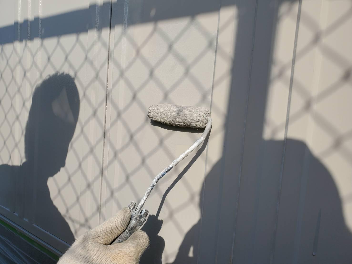 外壁塗装 佐賀 シャッター 塗装