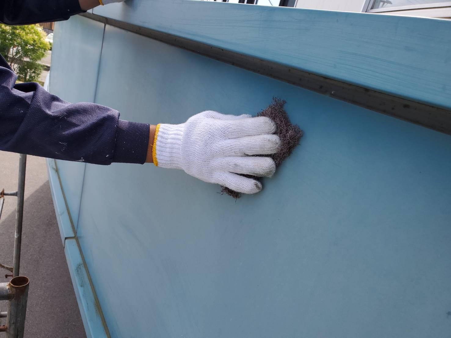佐賀市 外壁塗装 ひろし 施工事例 施工日記 ケレン