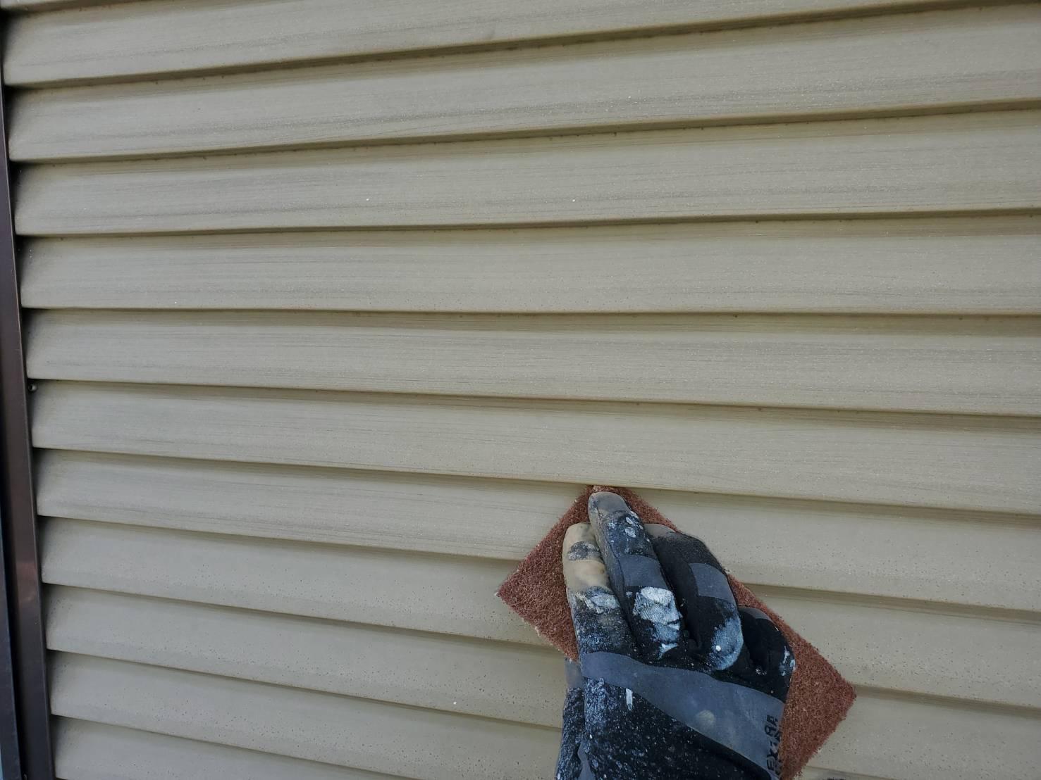 佐賀市 外壁塗装 塗装 ひろし 屋根塗装 シャッター ケレン