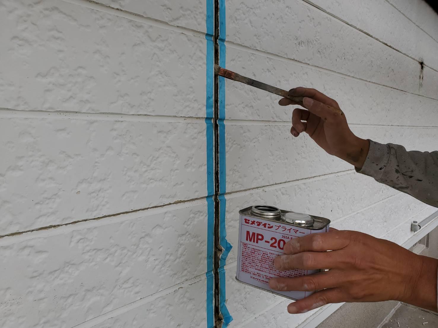 佐賀市 外壁塗装 塗装 ひろし 屋根塗装 コーキングプライマー プライマー