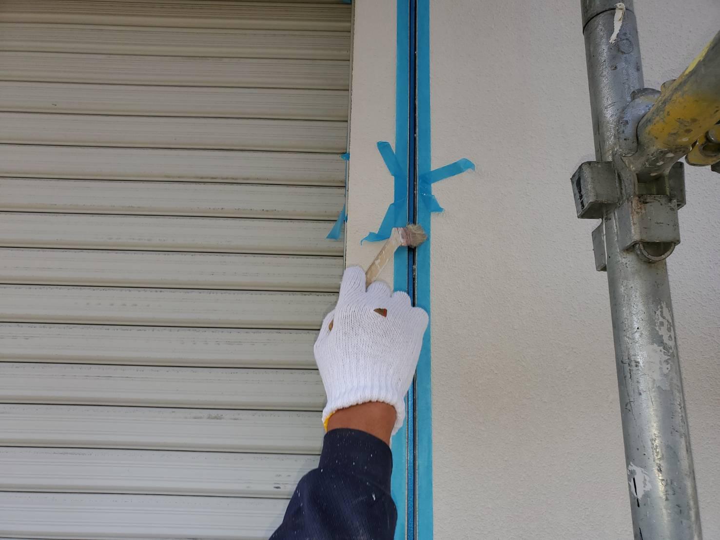 コーキング 塗るばい サニー建設商事 佐賀市 外壁塗装