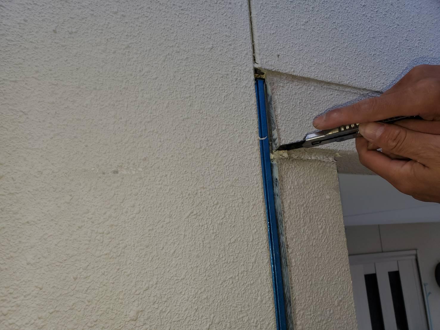 外壁塗装 佐賀市 施工事例 コーキング プライマー サニー建設商事 さにけん