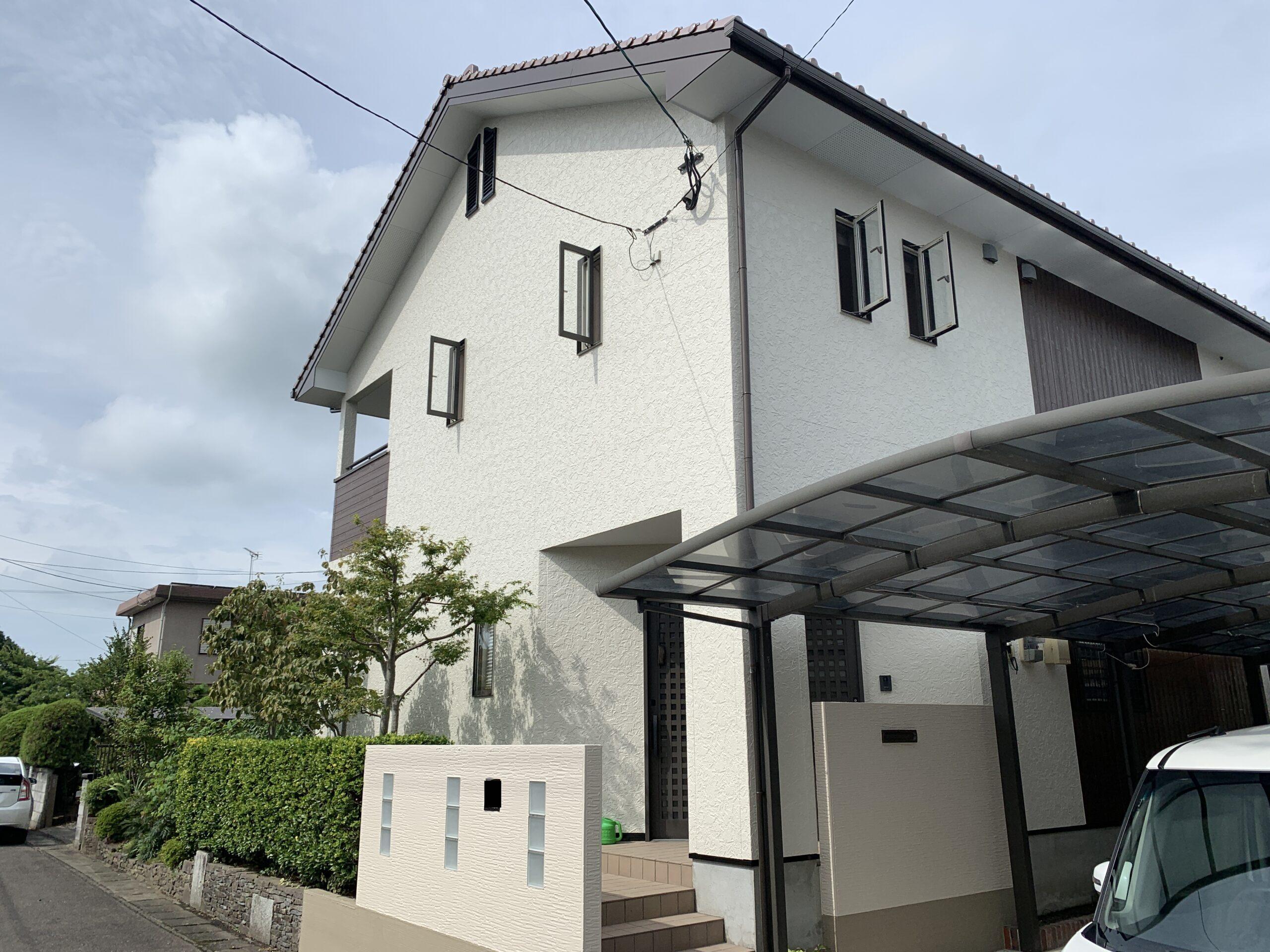 佐賀市 塗るばい サニー建設商事 サニケン さにけん 施工日記 外壁塗装 外壁 塗装