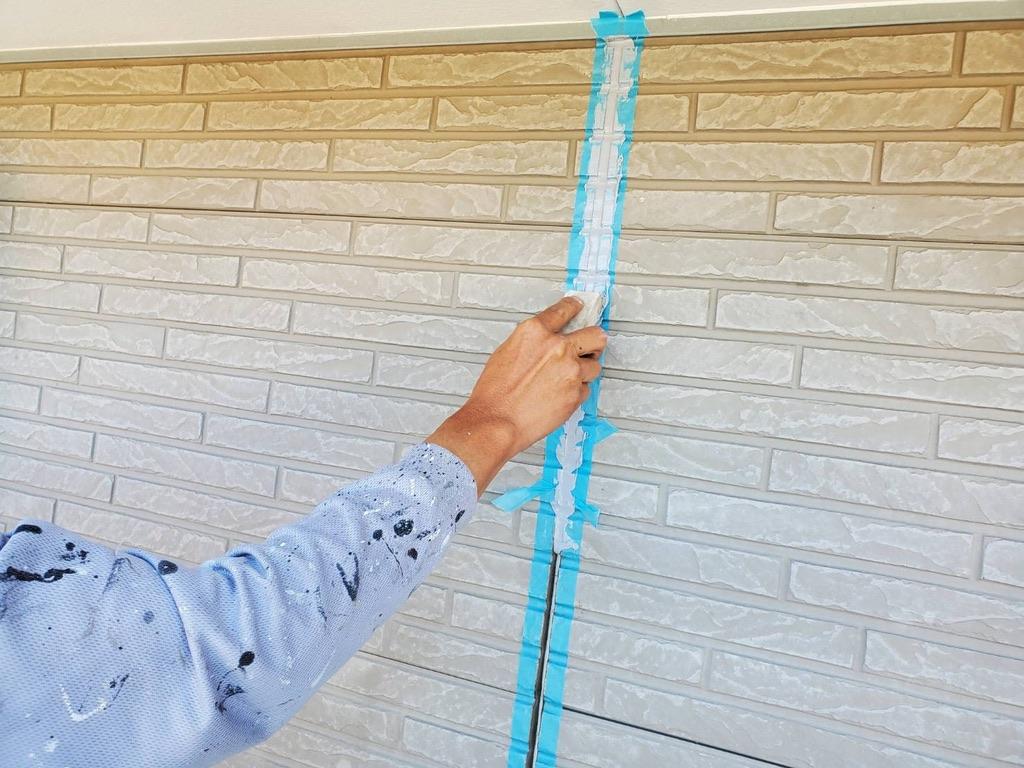 外壁塗装 佐賀 コーキング プライマー仕上げ