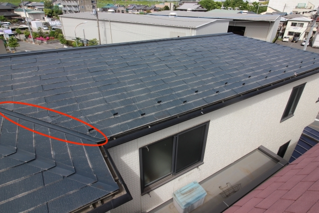 外壁塗装 屋根塗装 佐賀 屋根 谷樋