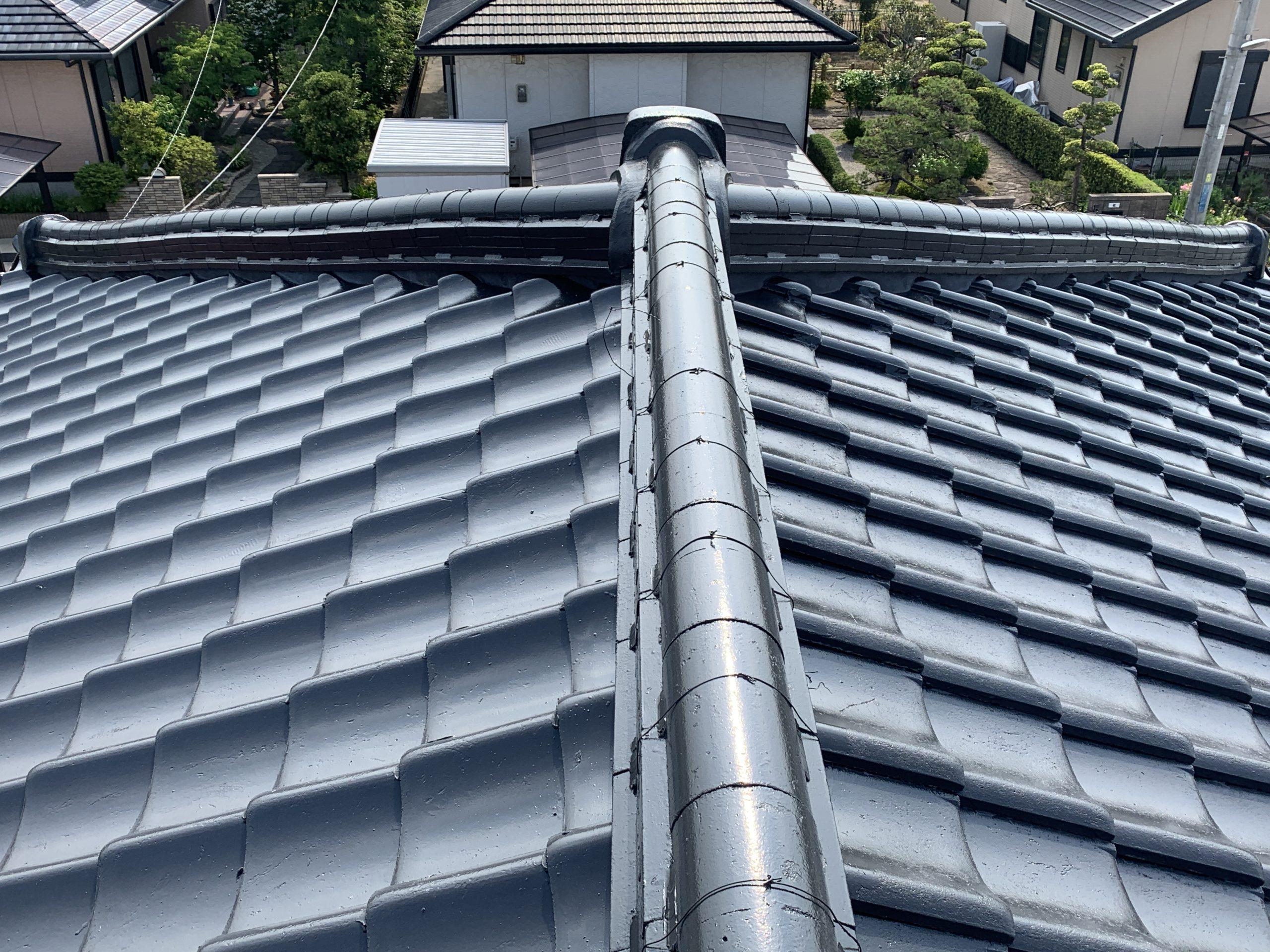 屋根塗装 佐賀 瓦屋根