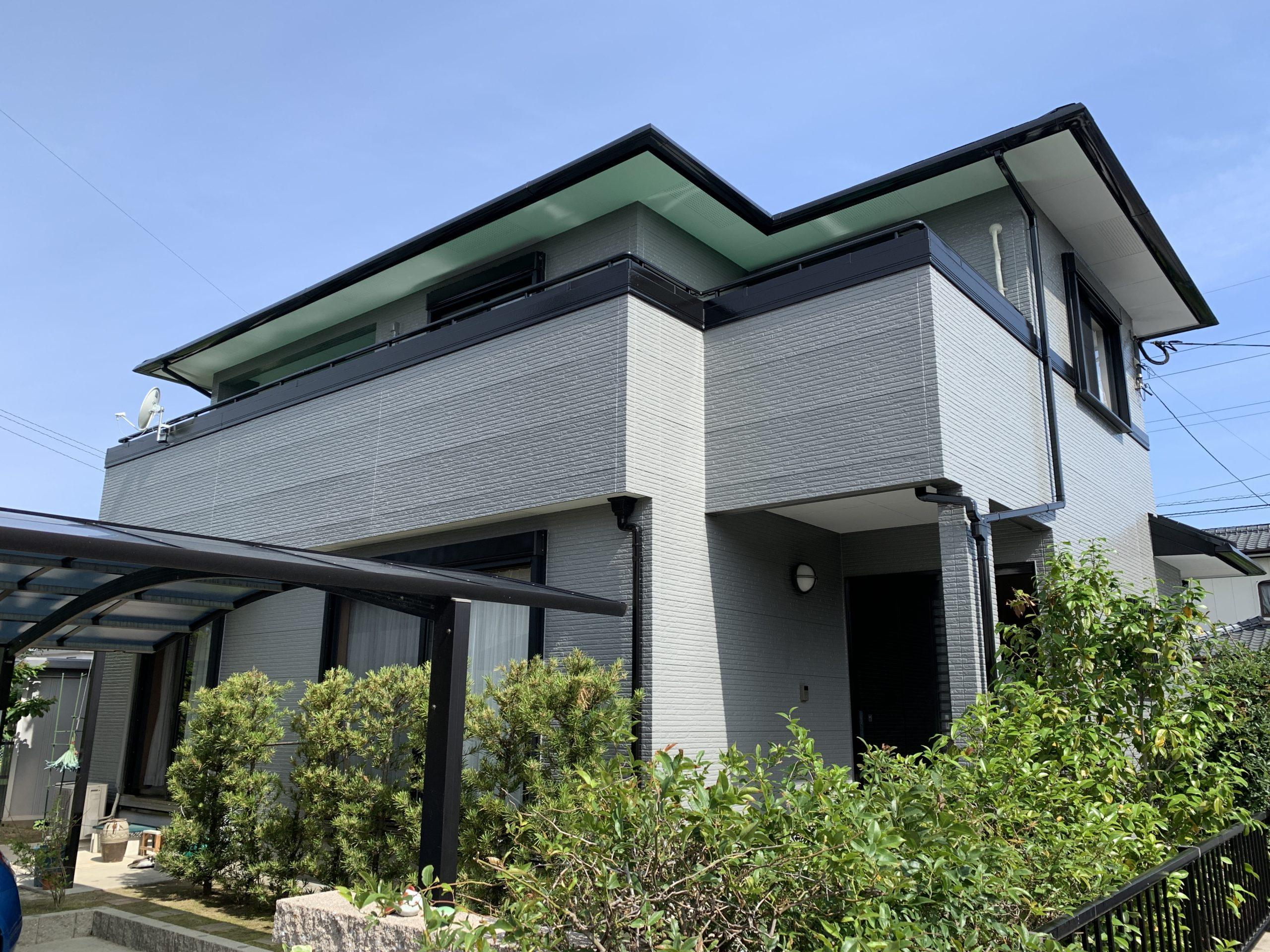 外壁塗装 佐賀 コロニアル屋根