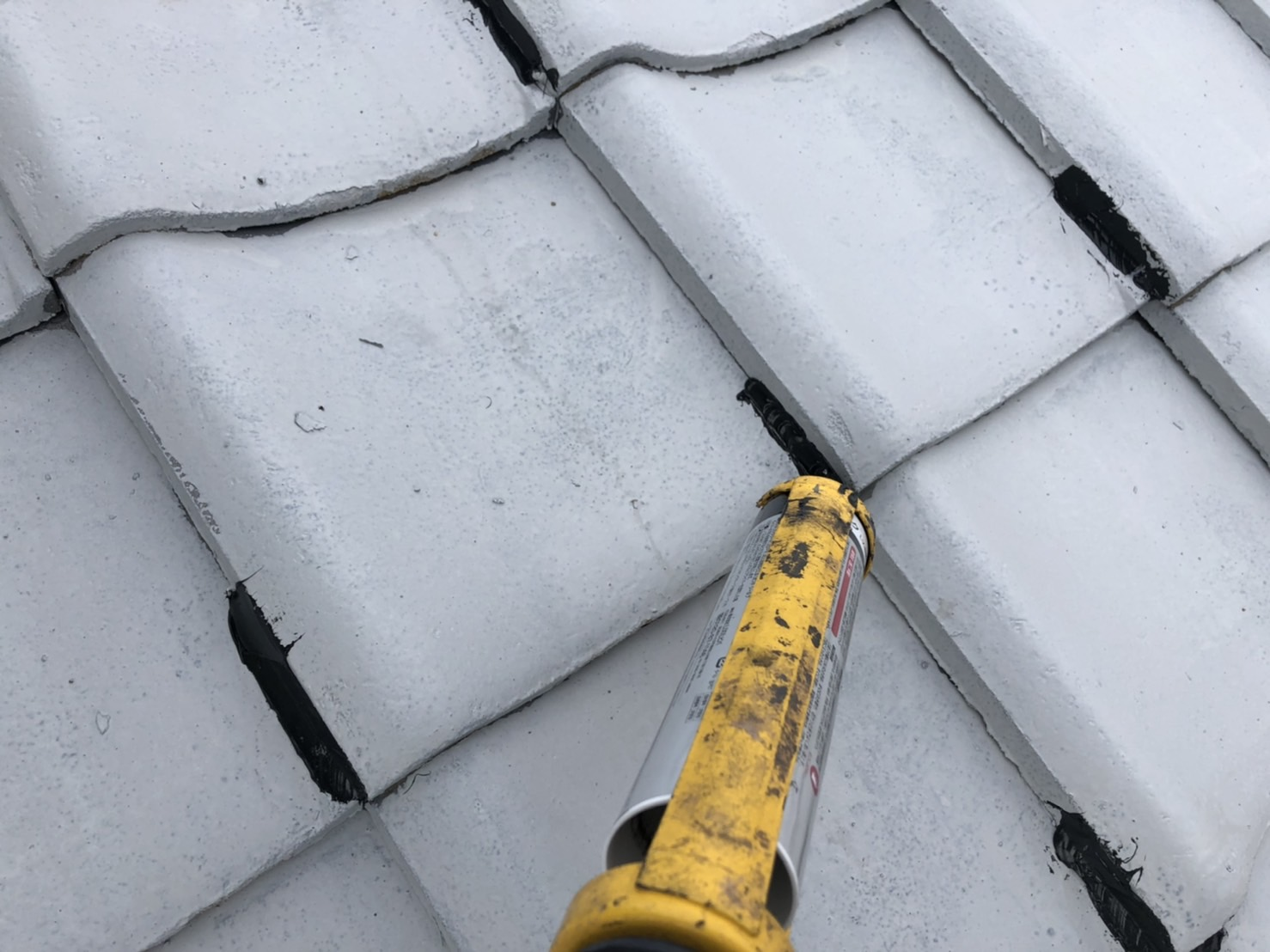 屋根塗装 佐賀 瓦屋根 コーキング プライマー