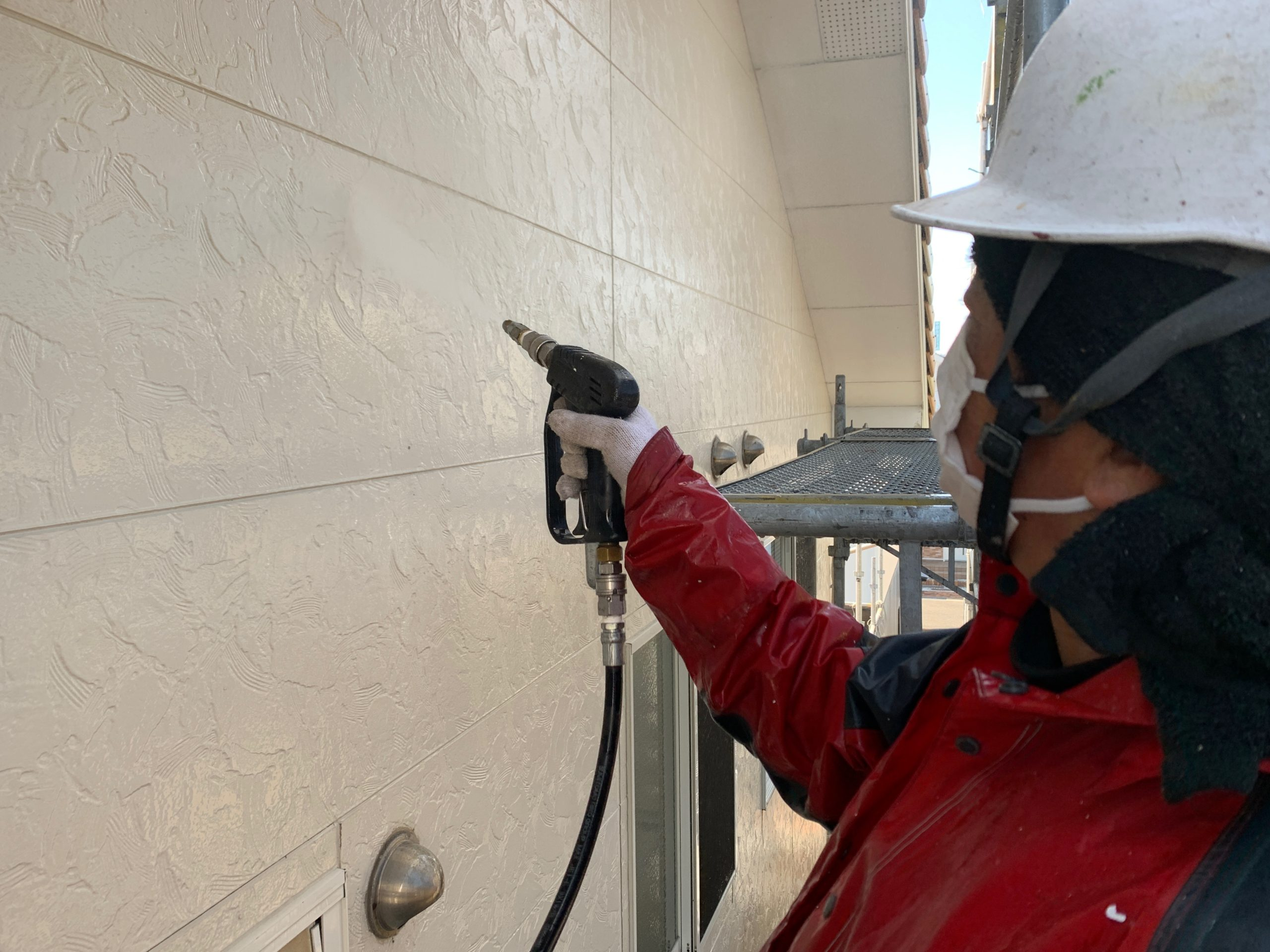 外壁塗装 佐賀 外壁 サイディングボード 洗浄 高圧洗浄
