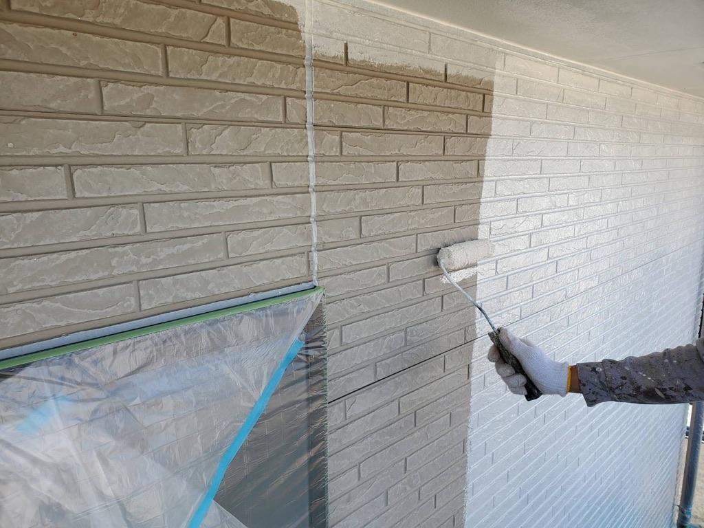 外壁塗装 佐賀 外壁 下塗り