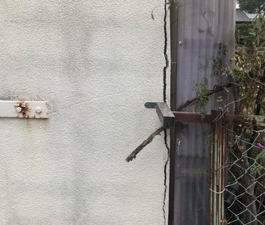 外壁塗装 佐賀 クラック ひび割れ 雨漏り
