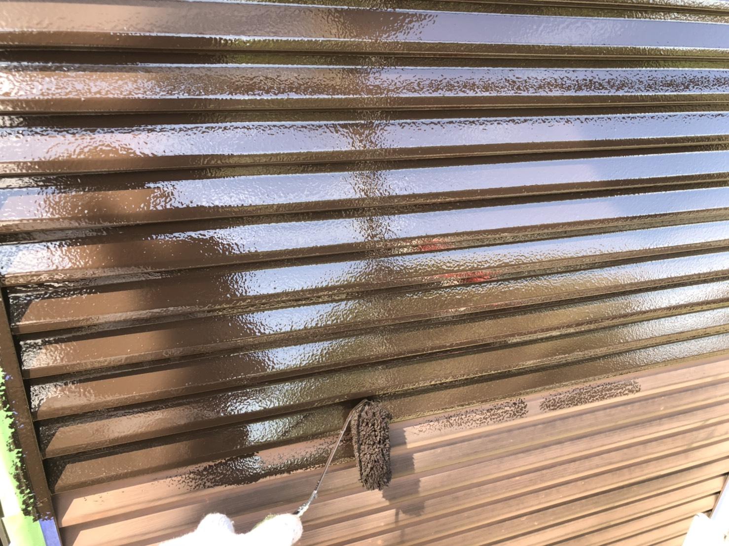 外壁塗装 佐賀 シャッター