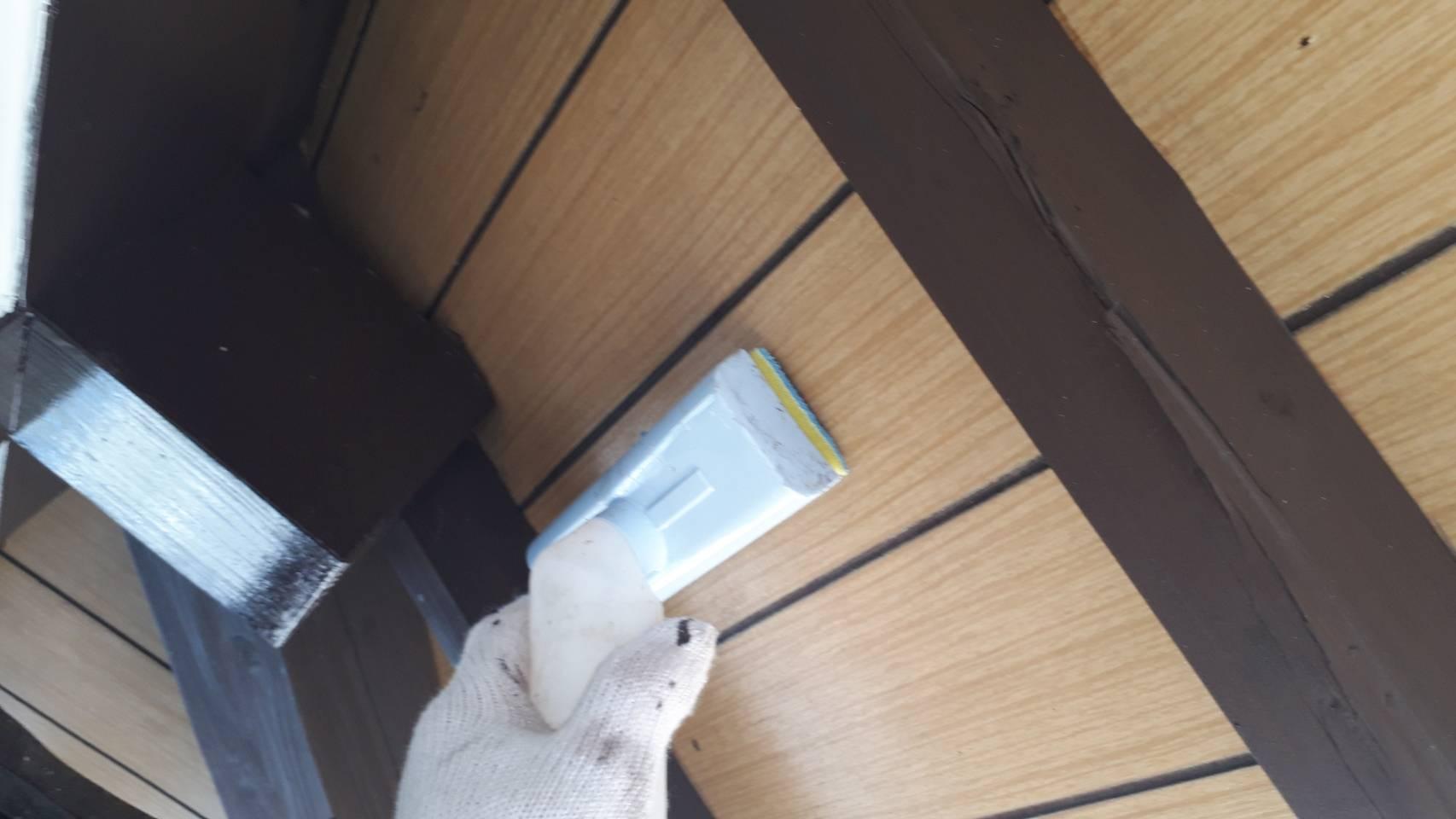 外壁塗装 佐賀 軒下天井 軒天