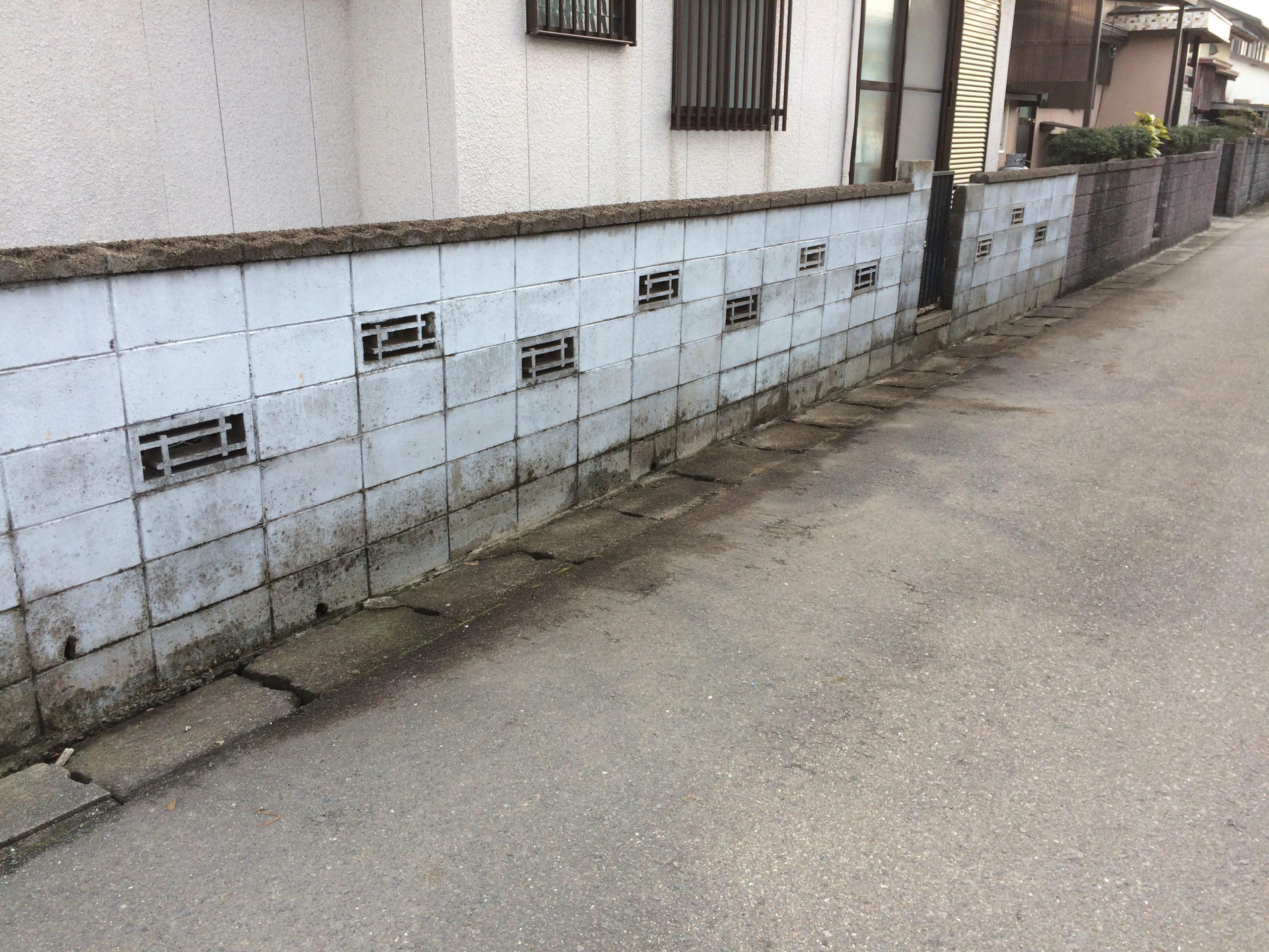 外壁塗装 佐賀 塀