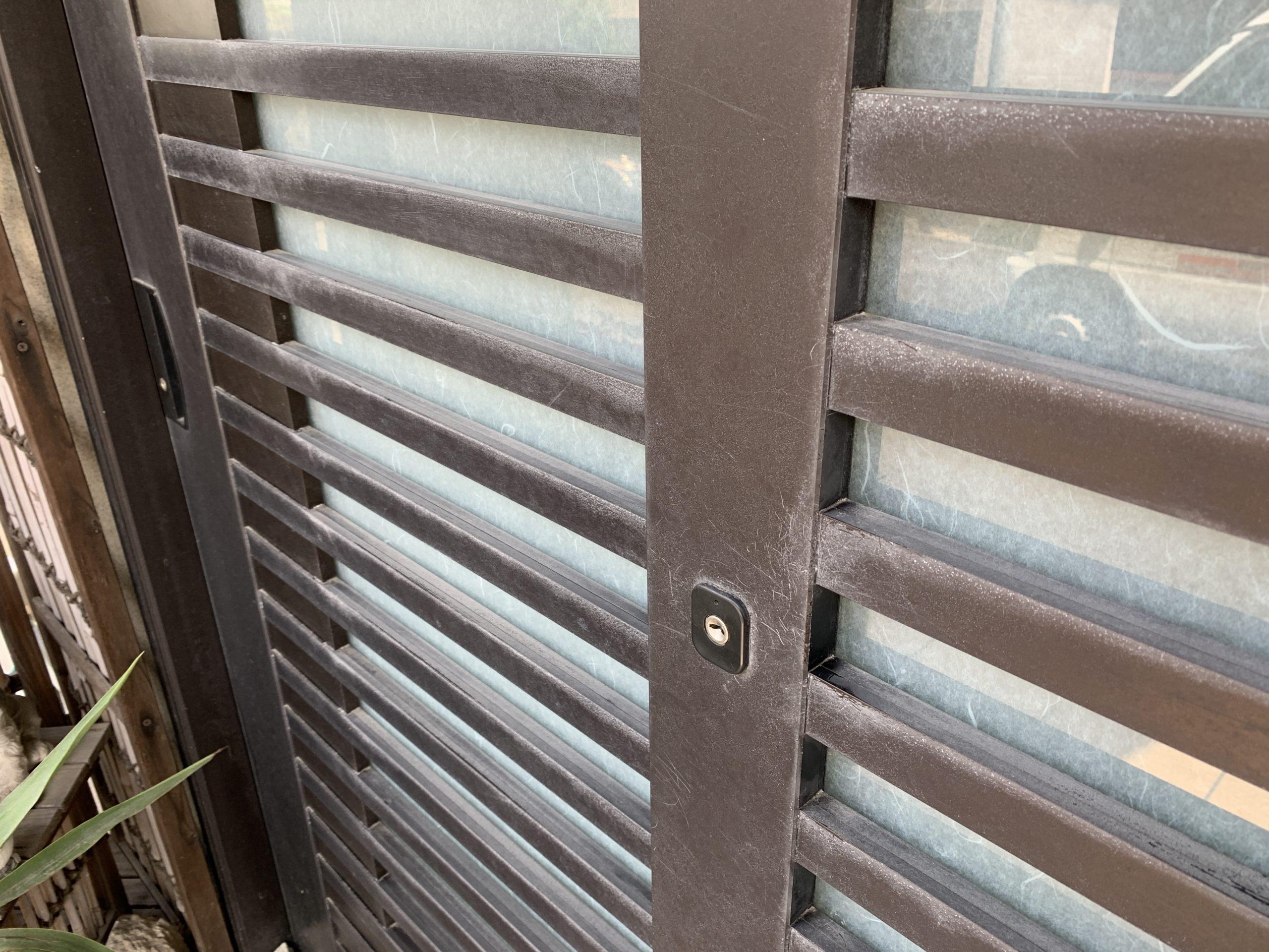 外壁塗装 佐賀 付帯部 玄関ドア