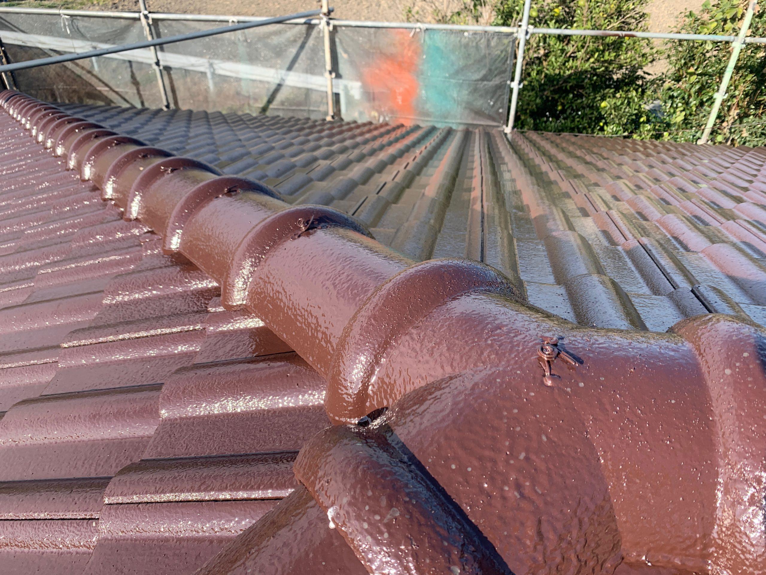 外壁塗装 佐賀 劣化 屋根 洋瓦