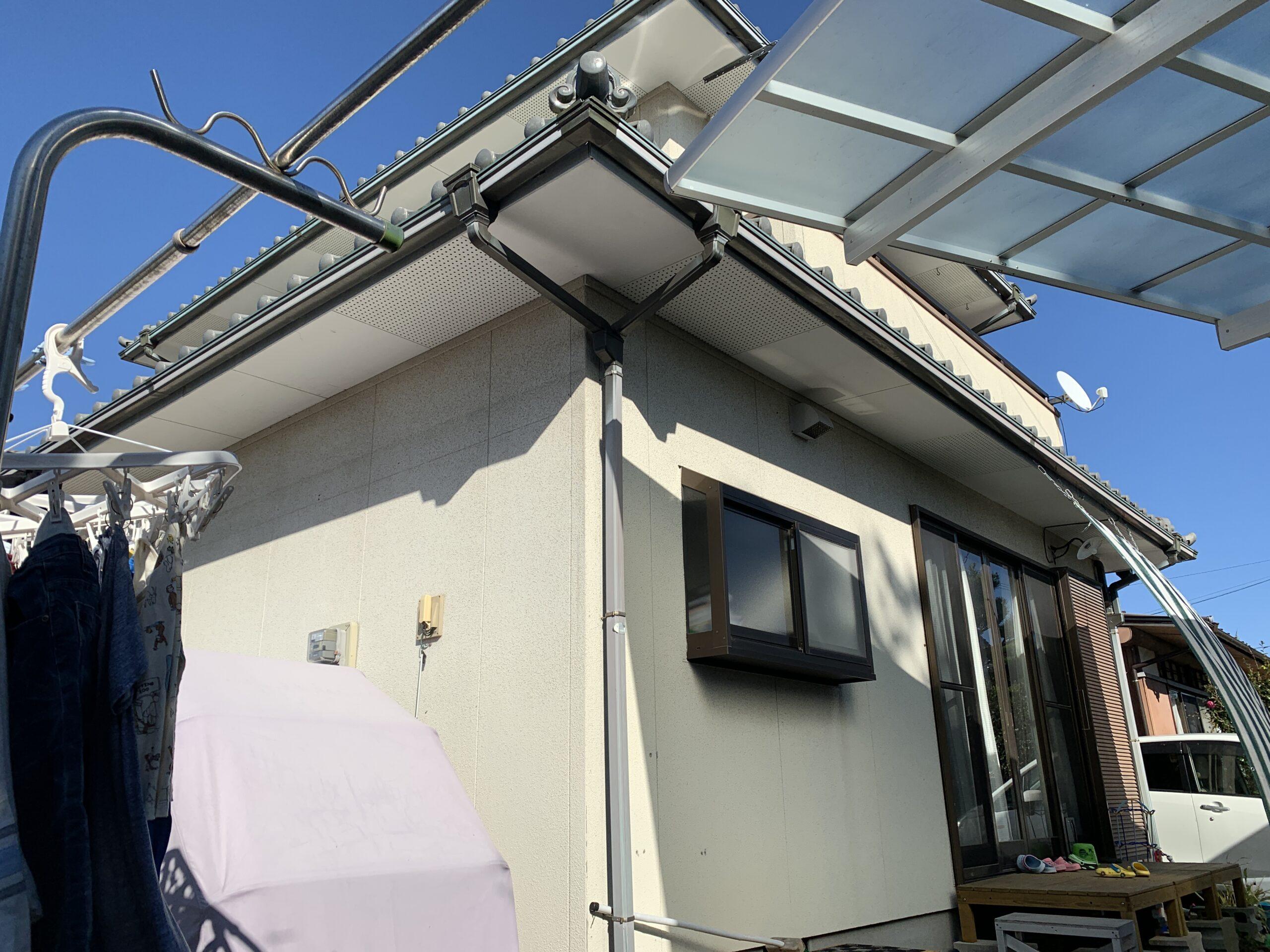 外壁塗装 佐賀 外壁 サイディングボード 施工事例