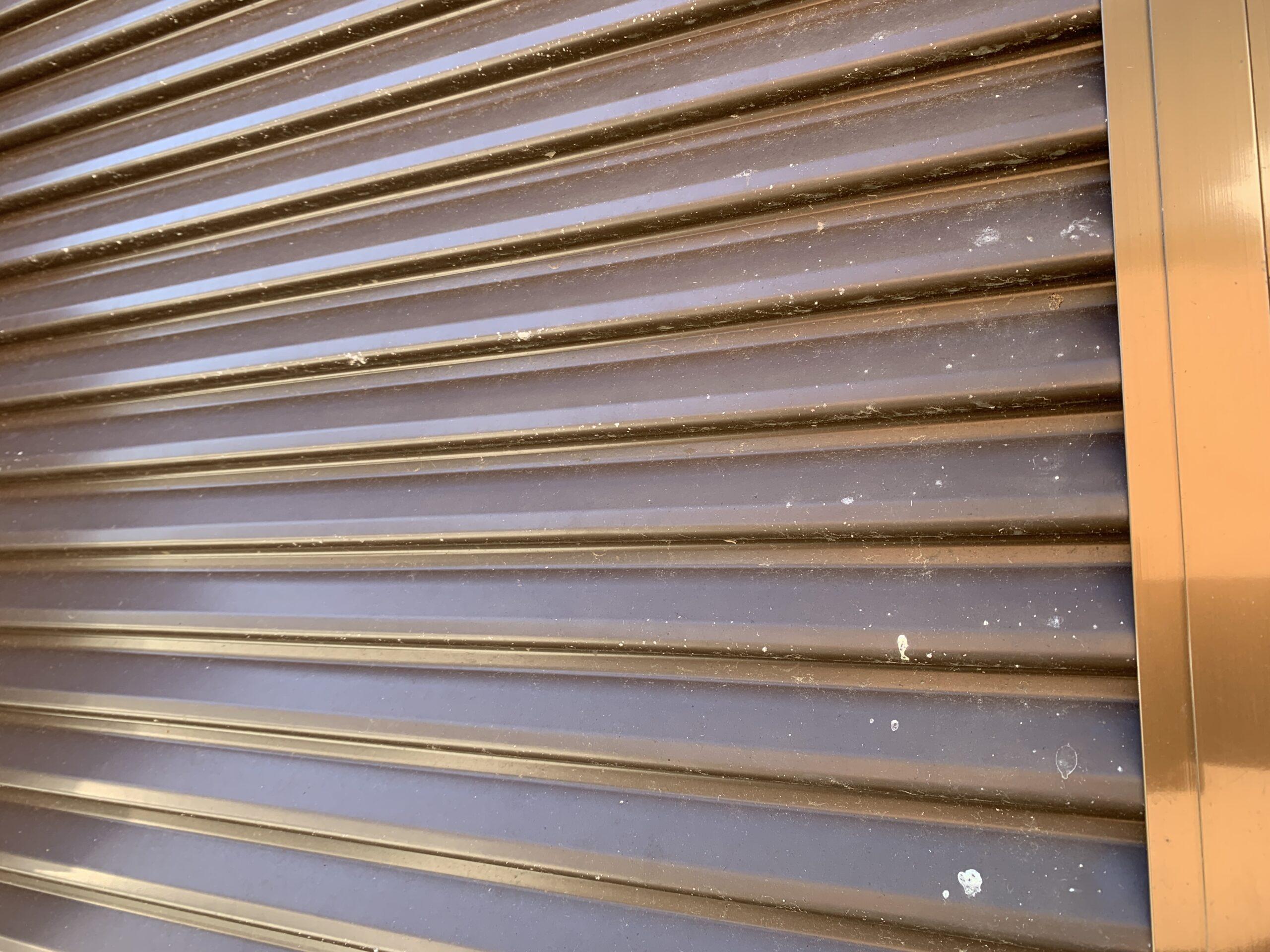 外壁塗装 佐賀 施工事例 板金部 鉄部 雨戸