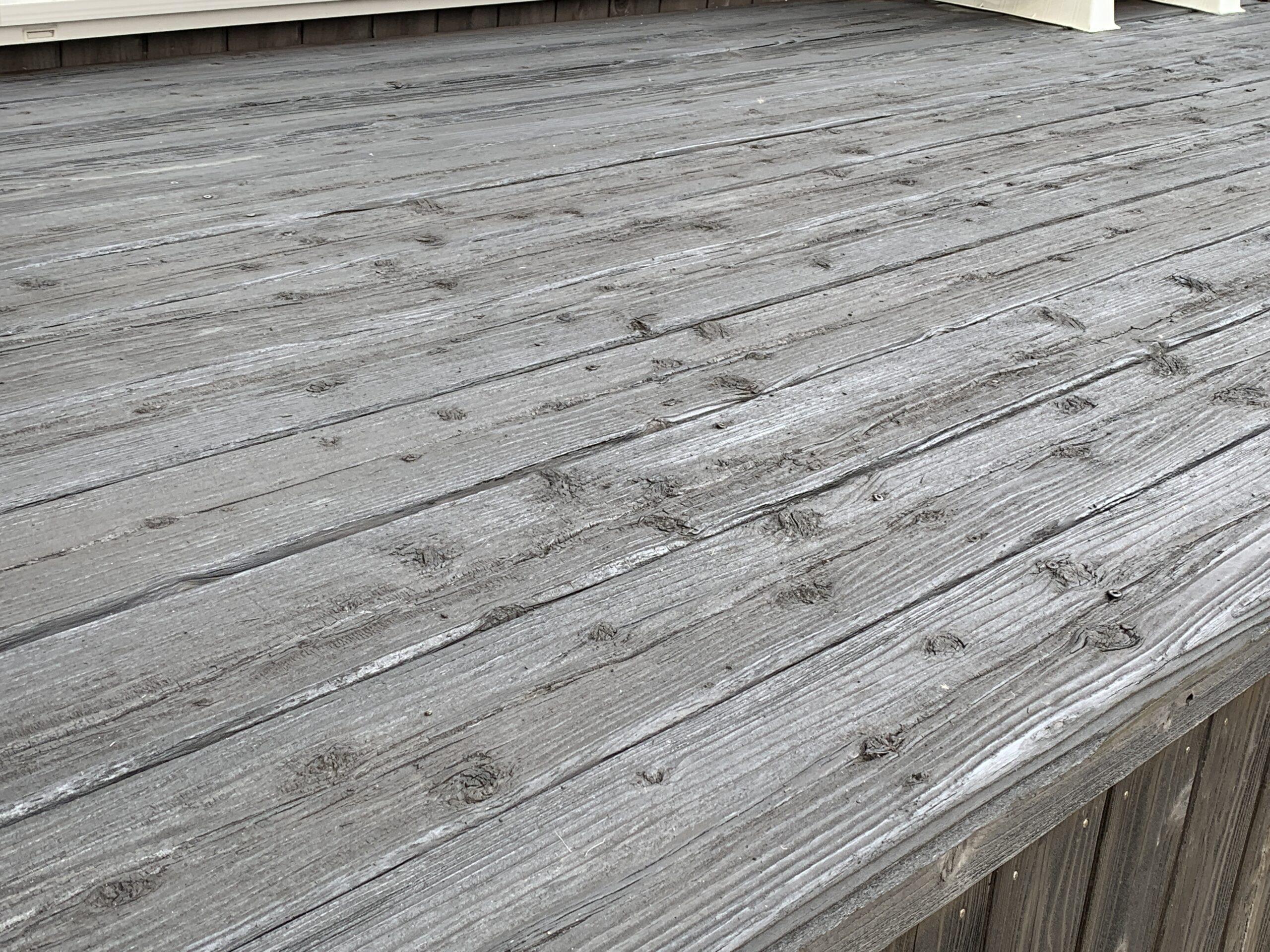 外壁塗装 佐賀 木部塗装 ウッドデッキ