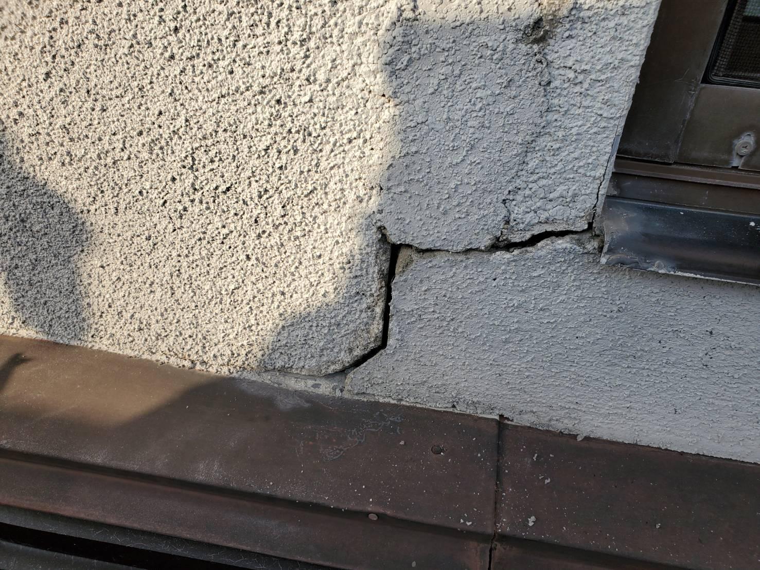 外壁塗装 佐賀 クラック ひび割れ 補修 コーキング