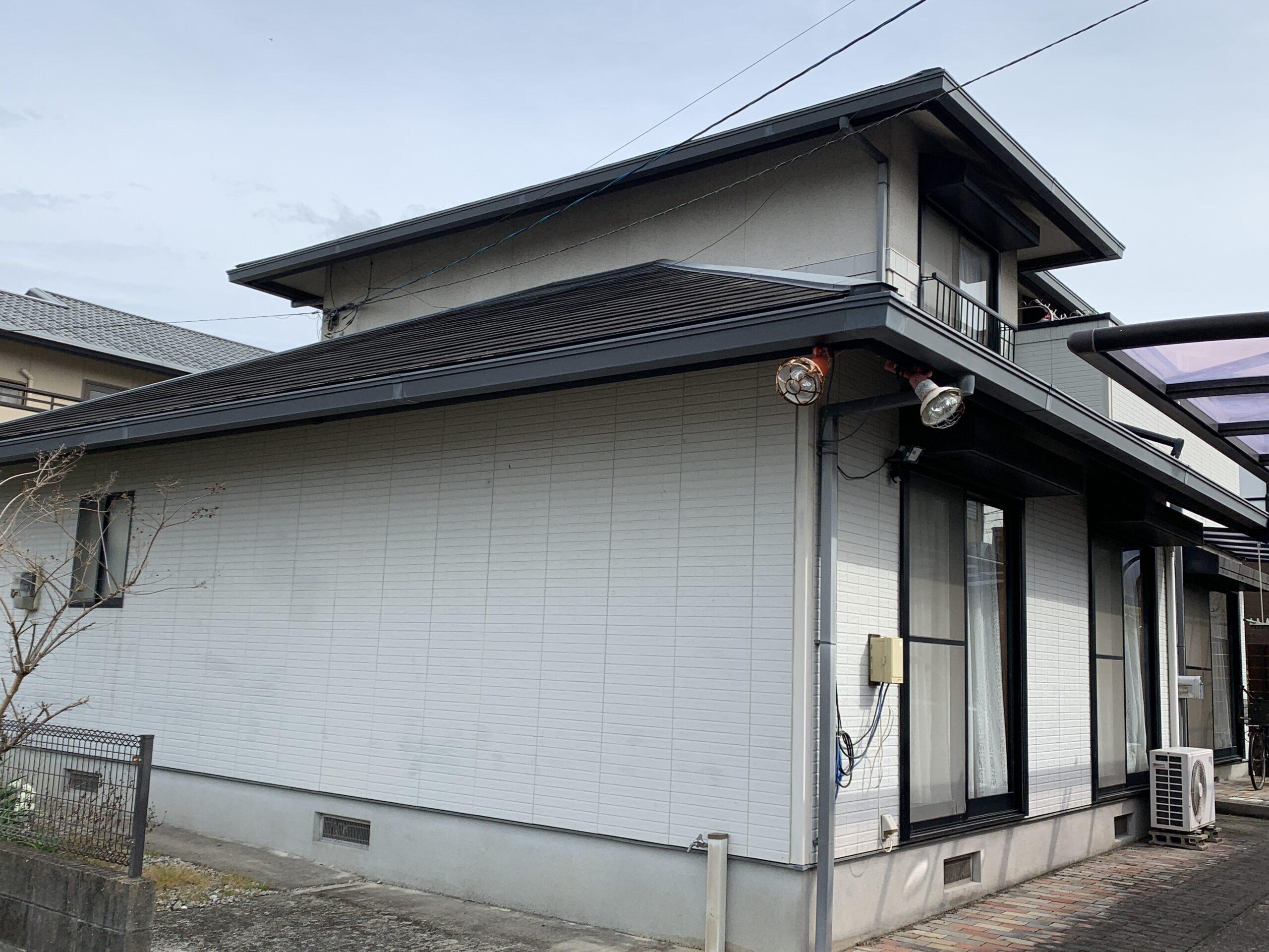 佐賀市 外壁塗装 雨樋