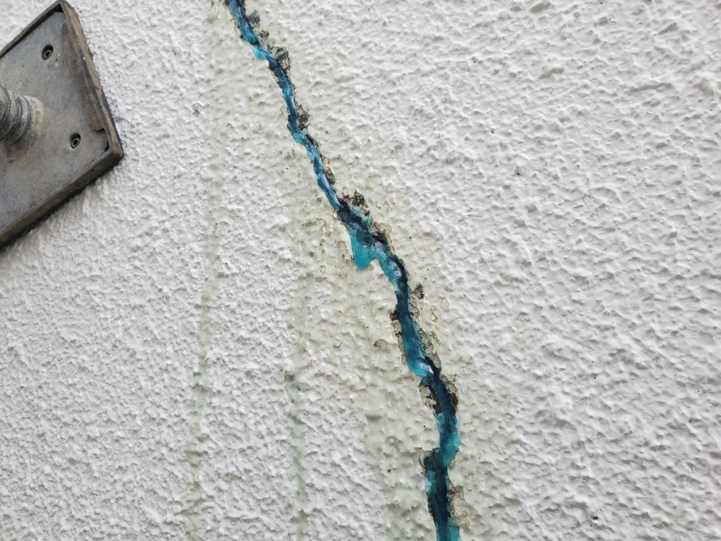 外壁塗装 佐賀 ひび割れ 補修