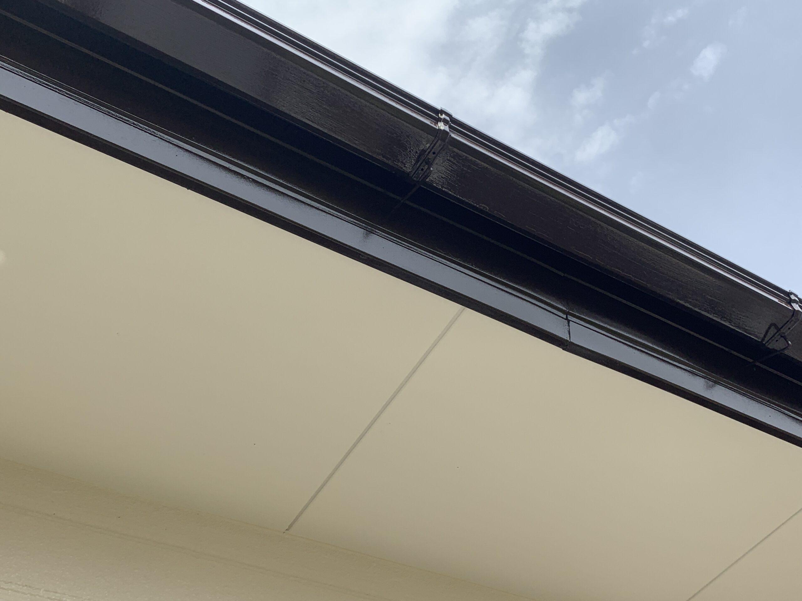 外壁塗装 佐賀 軒下天井