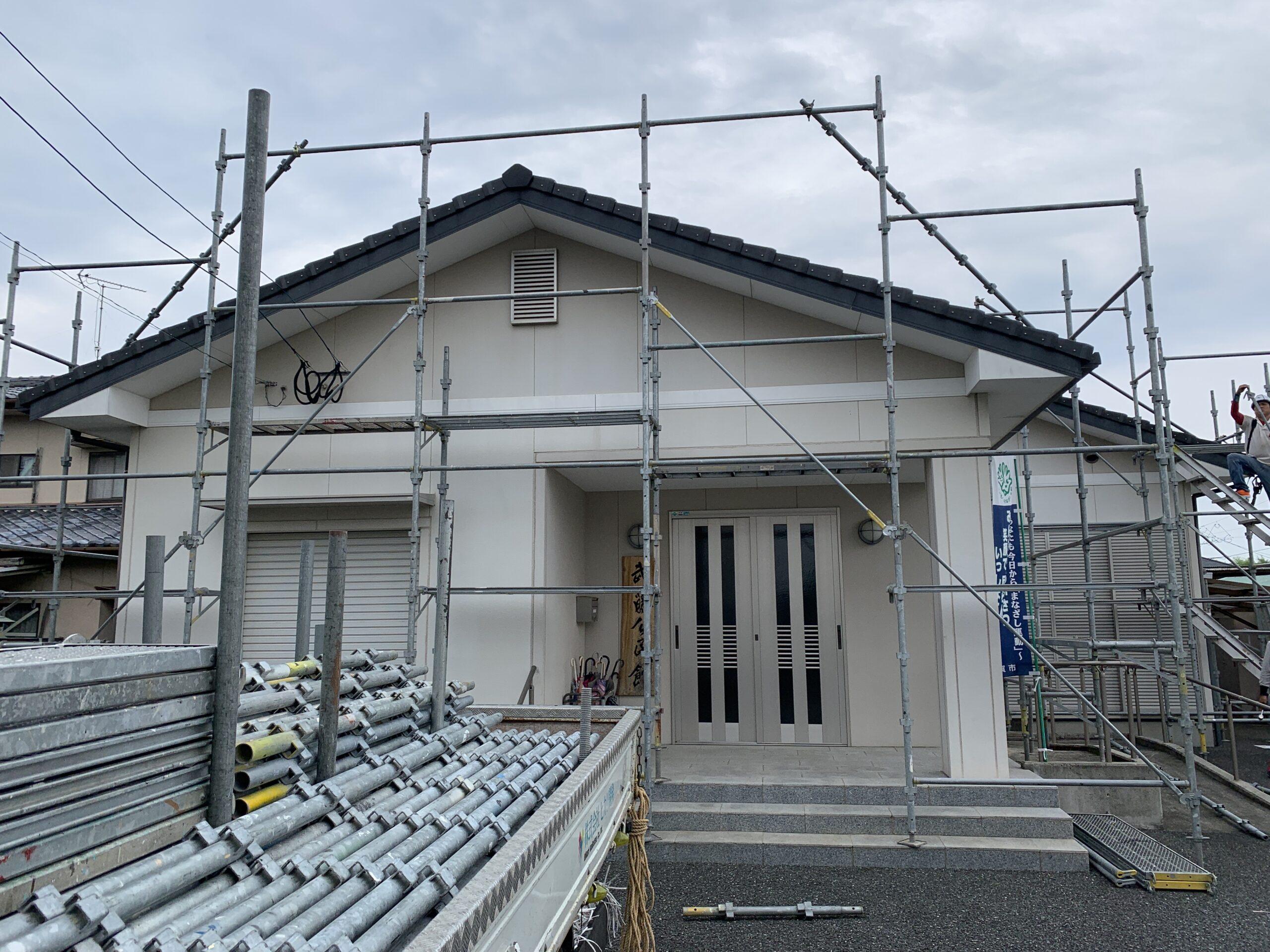 足場 佐賀市 塗るばい 外壁塗装 サニー建設商事