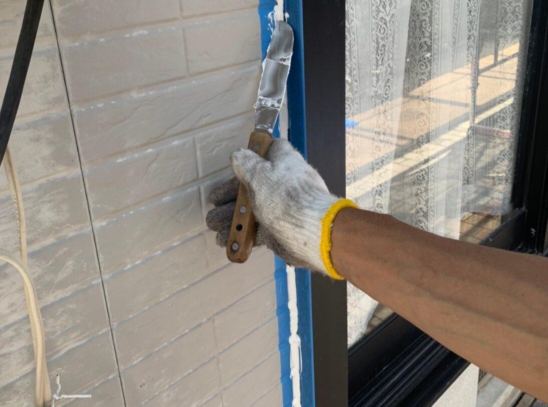 佐賀市 外壁塗装 サニー建設 コーキング 外壁塗装 屋根塗装