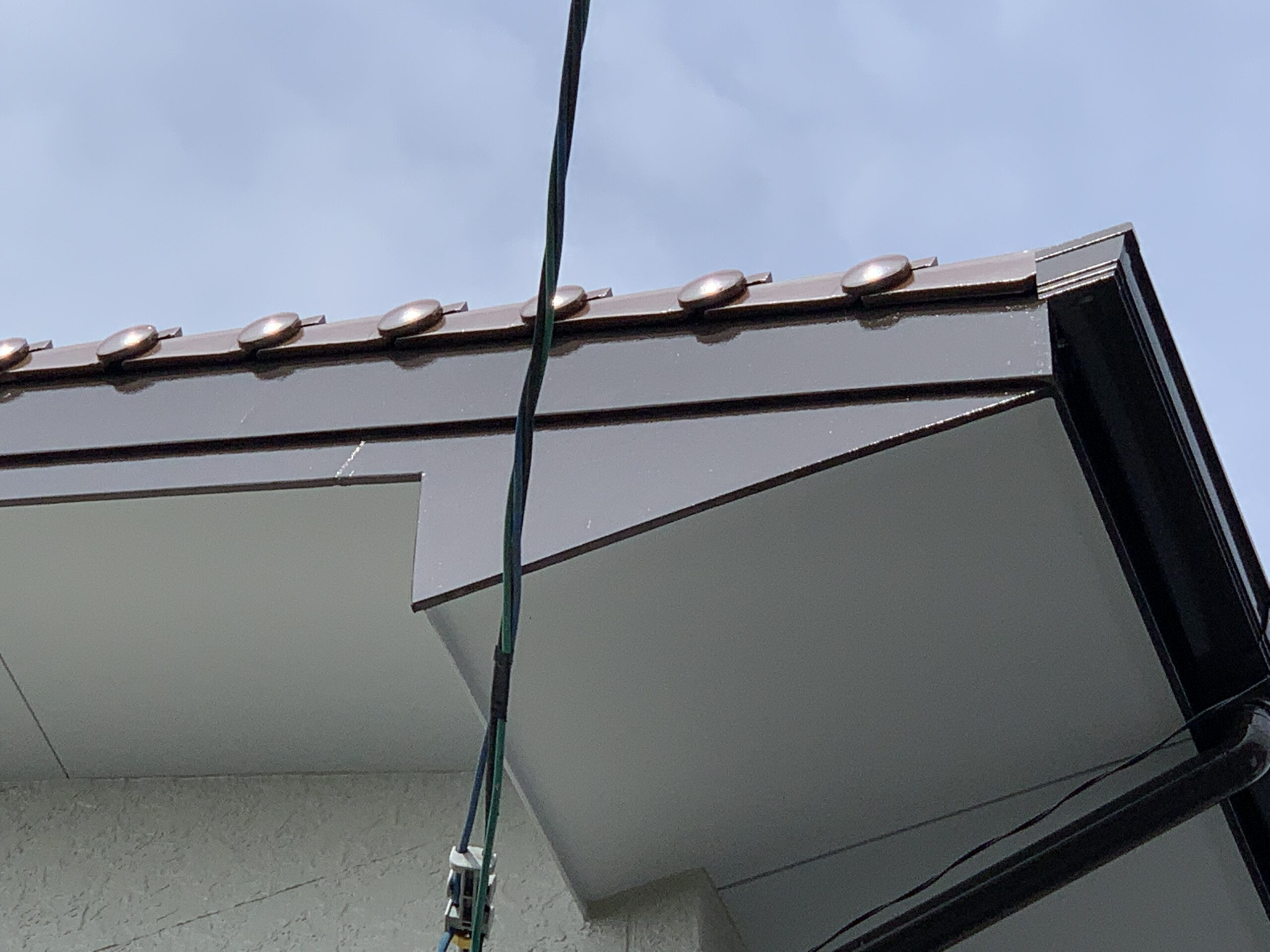 佐賀市 塗るばい サニー建設商事 サニケン さにけん 施工事例 破風板