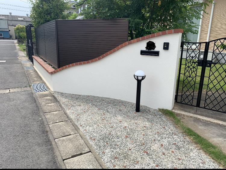 佐賀市 サニー建設商事 塗るばい 塀塗装 外壁塗装