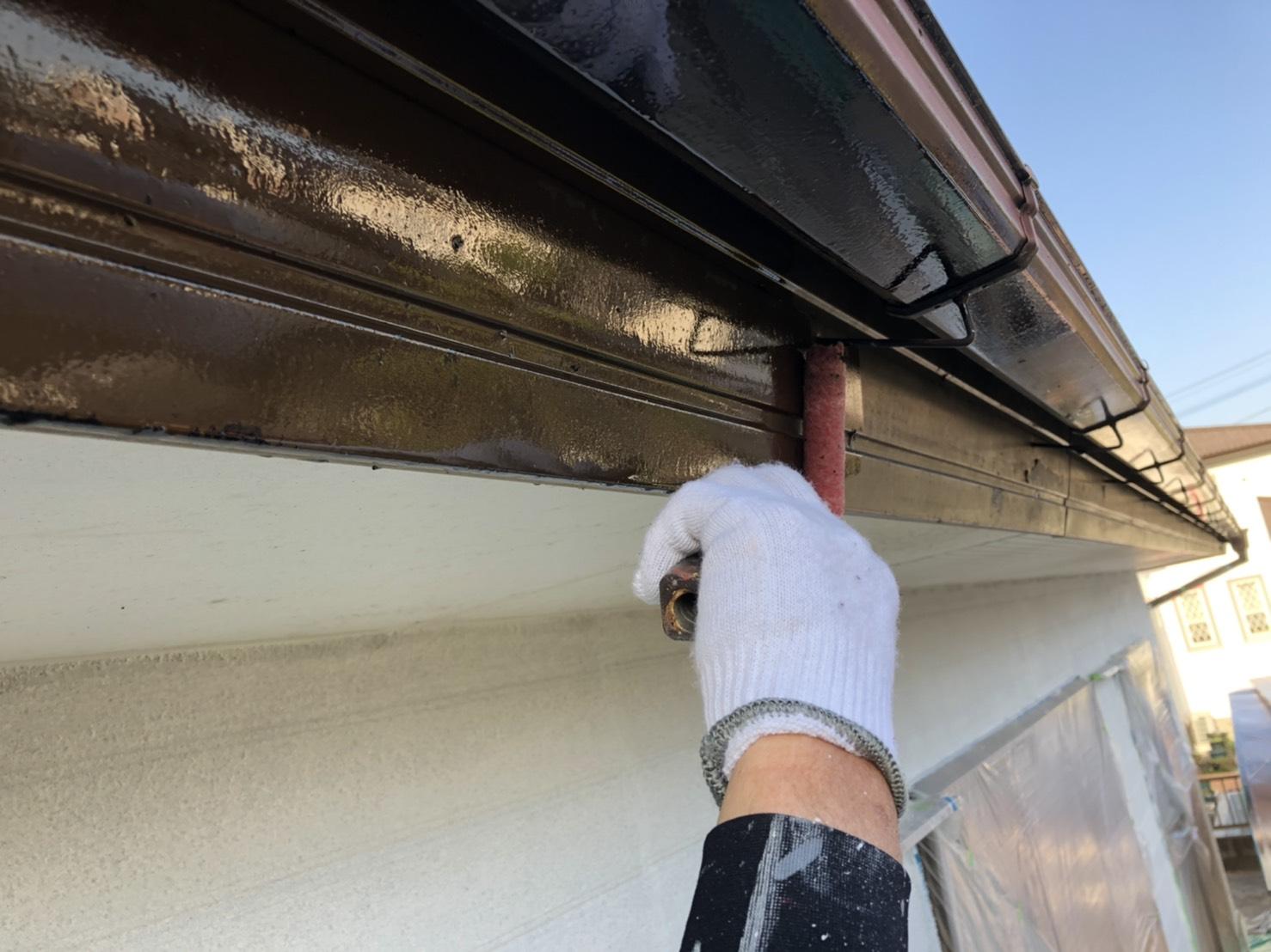 外壁塗装 佐賀 破風板 塗装