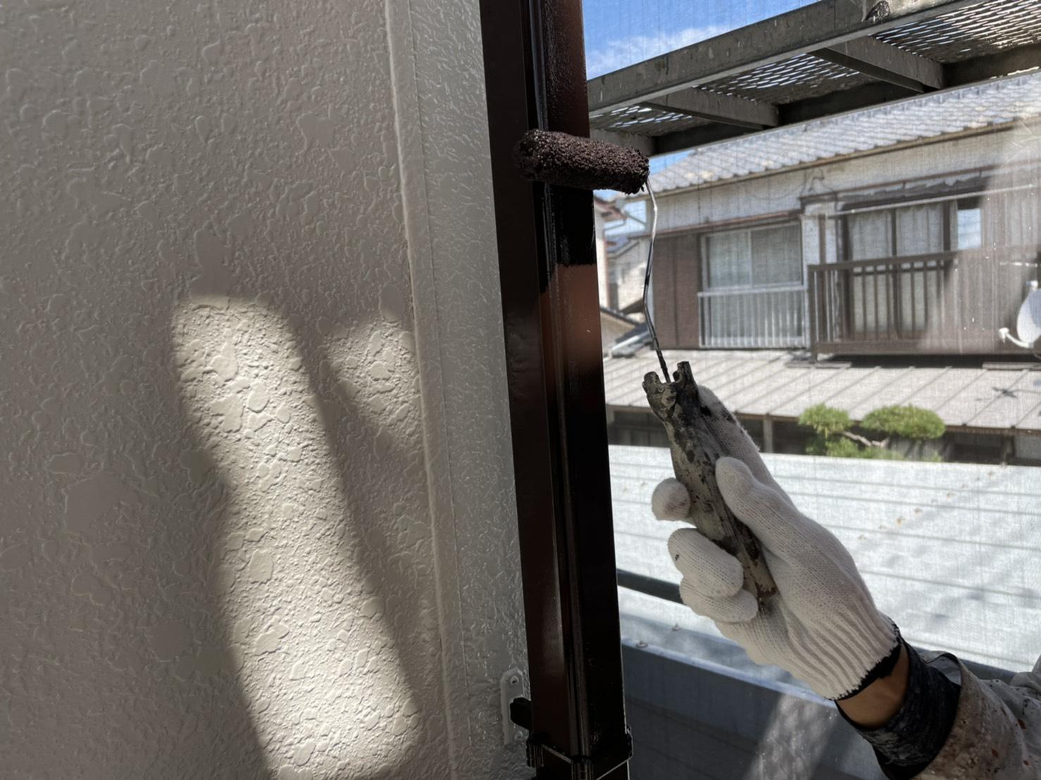 佐賀市 外壁塗装 塗るばい サニー建設商事 サニケン さにけん 雨樋塗装 雨樋 塗装