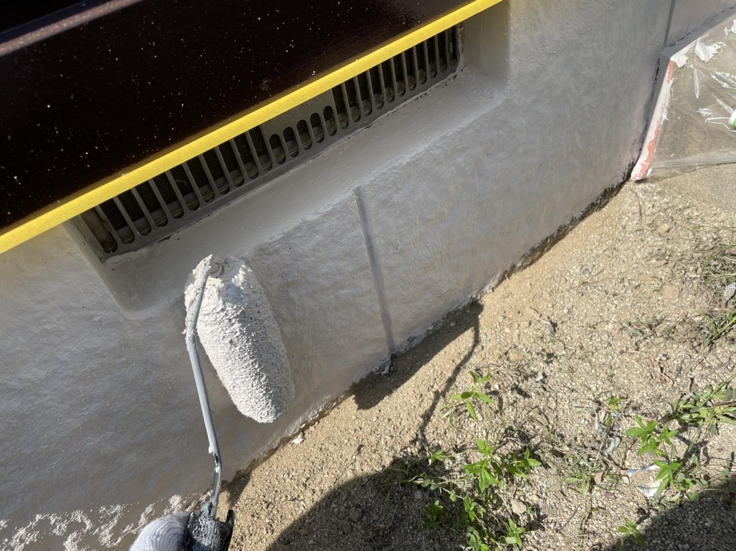 佐賀市 外壁塗装 塗るばい サニー建設商事 サニケン さにけん 水切り塗装 水切 塗装