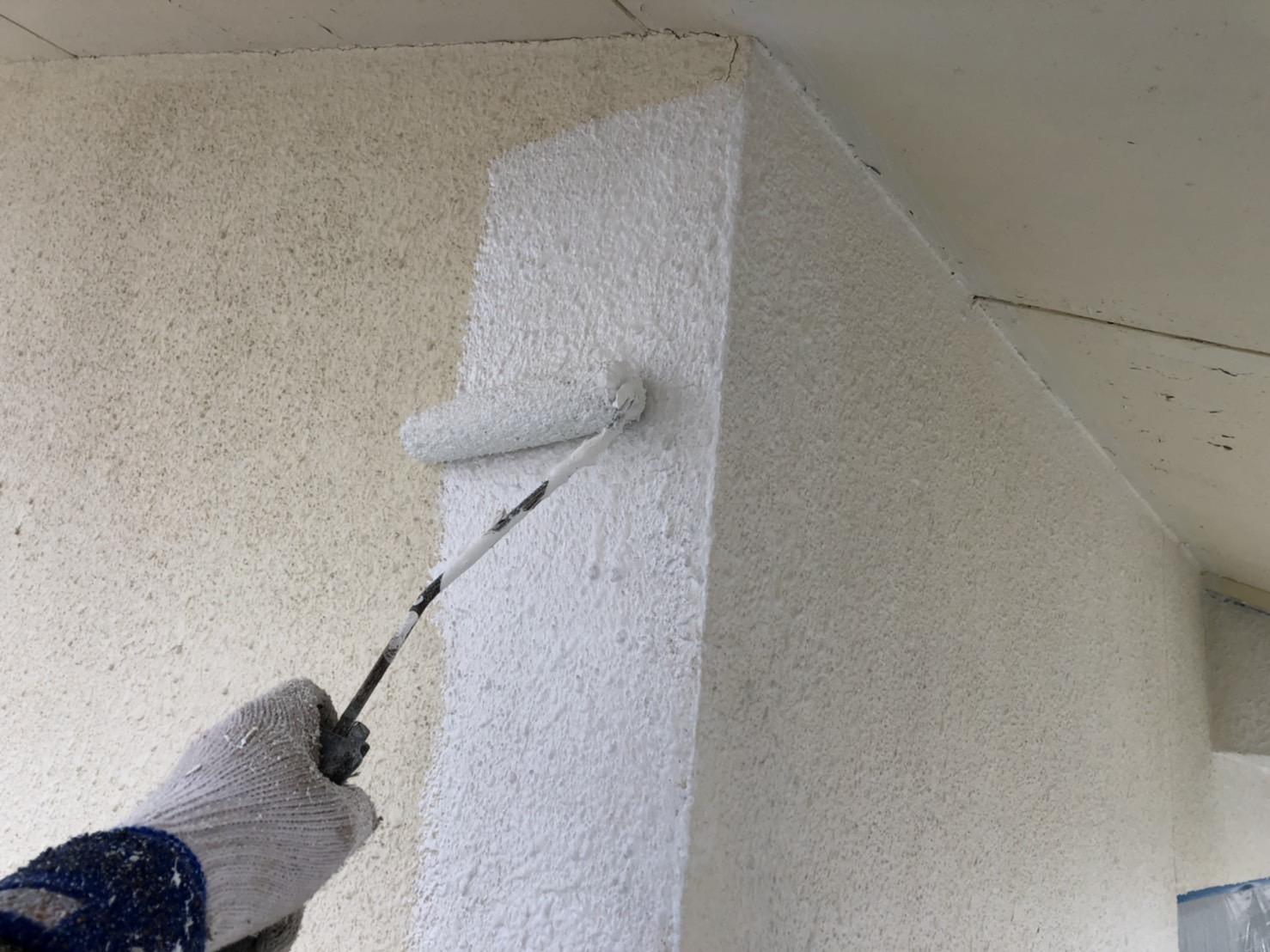 外壁塗装 佐賀 外壁 サイディングボード 塗装 下塗り