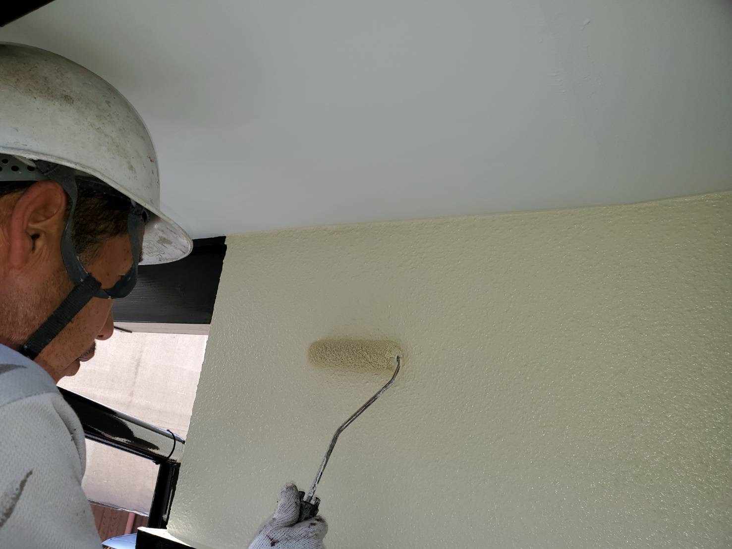 外壁塗装 佐賀 外壁 塗装 上塗り