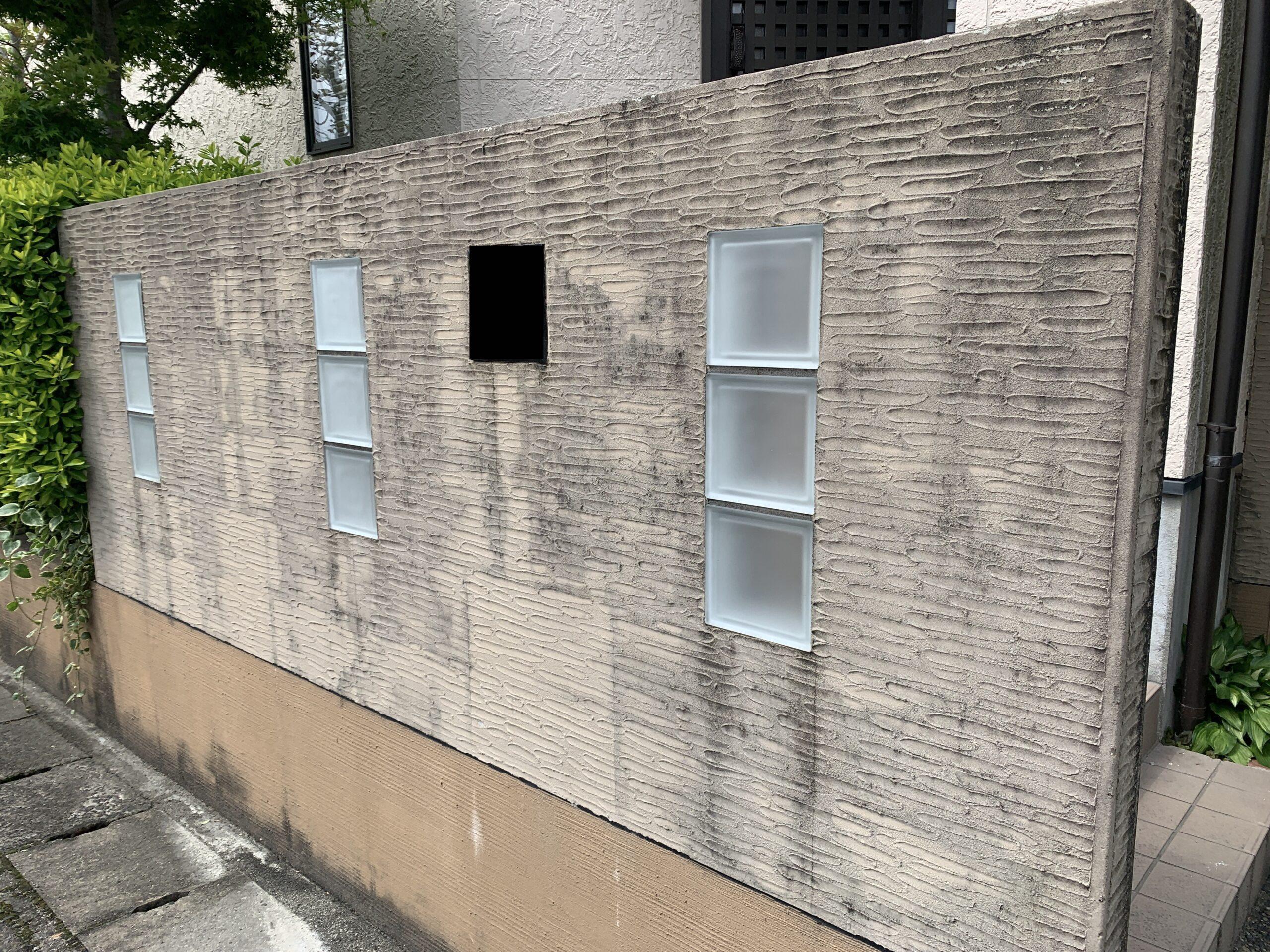 佐賀市 塗るばい サニー建設商事 サニケン さにけん 施工日記 塀塗装 塀 塗装