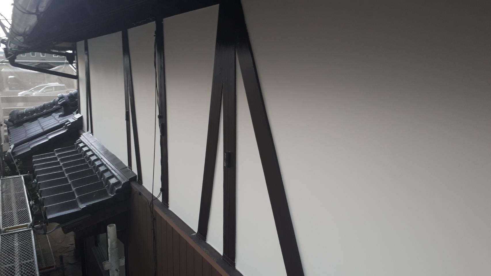 外壁塗装 佐賀 外壁 木部