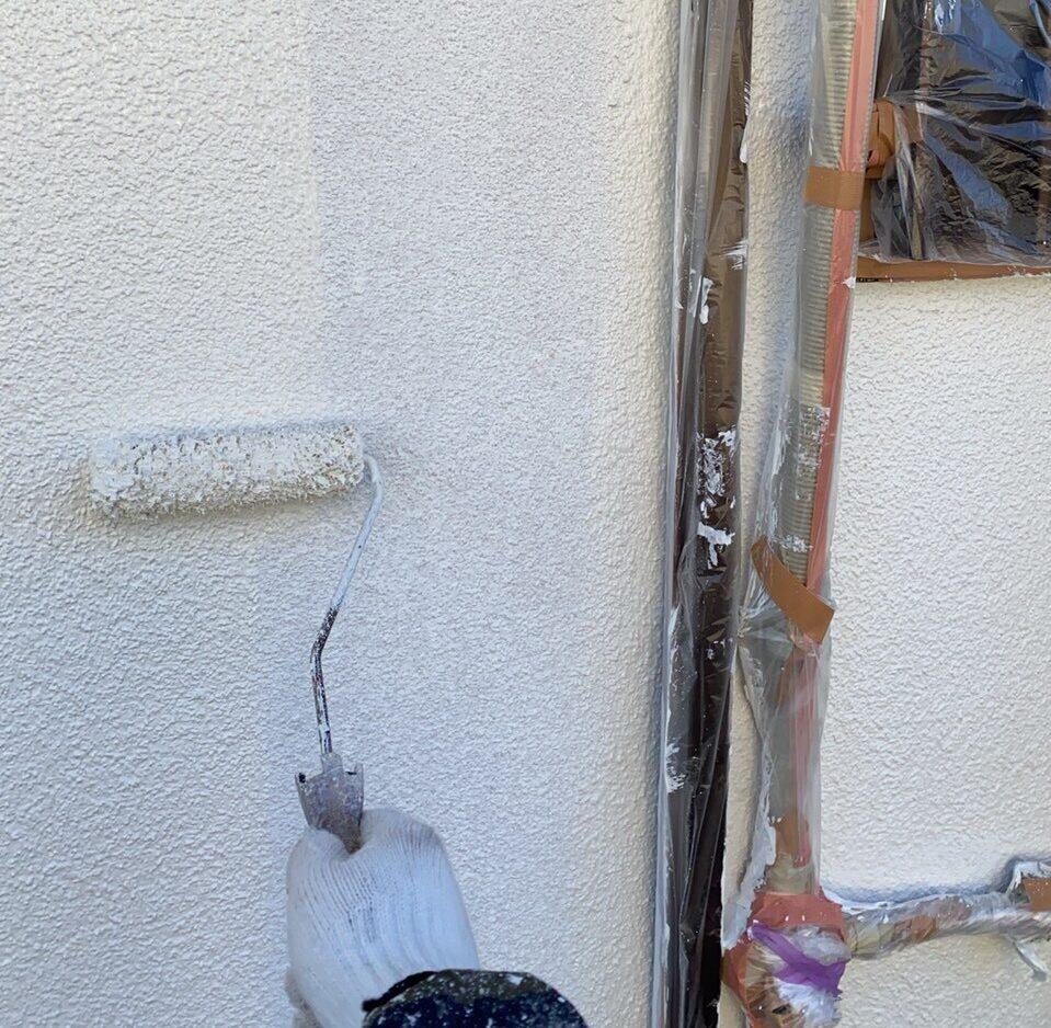 外壁塗装 佐賀 外壁 上塗り