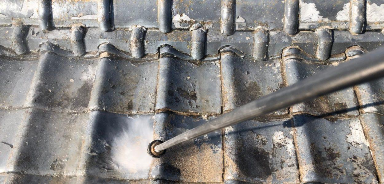 外壁塗装 屋根塗装 佐賀 瓦屋根 高圧洗浄
