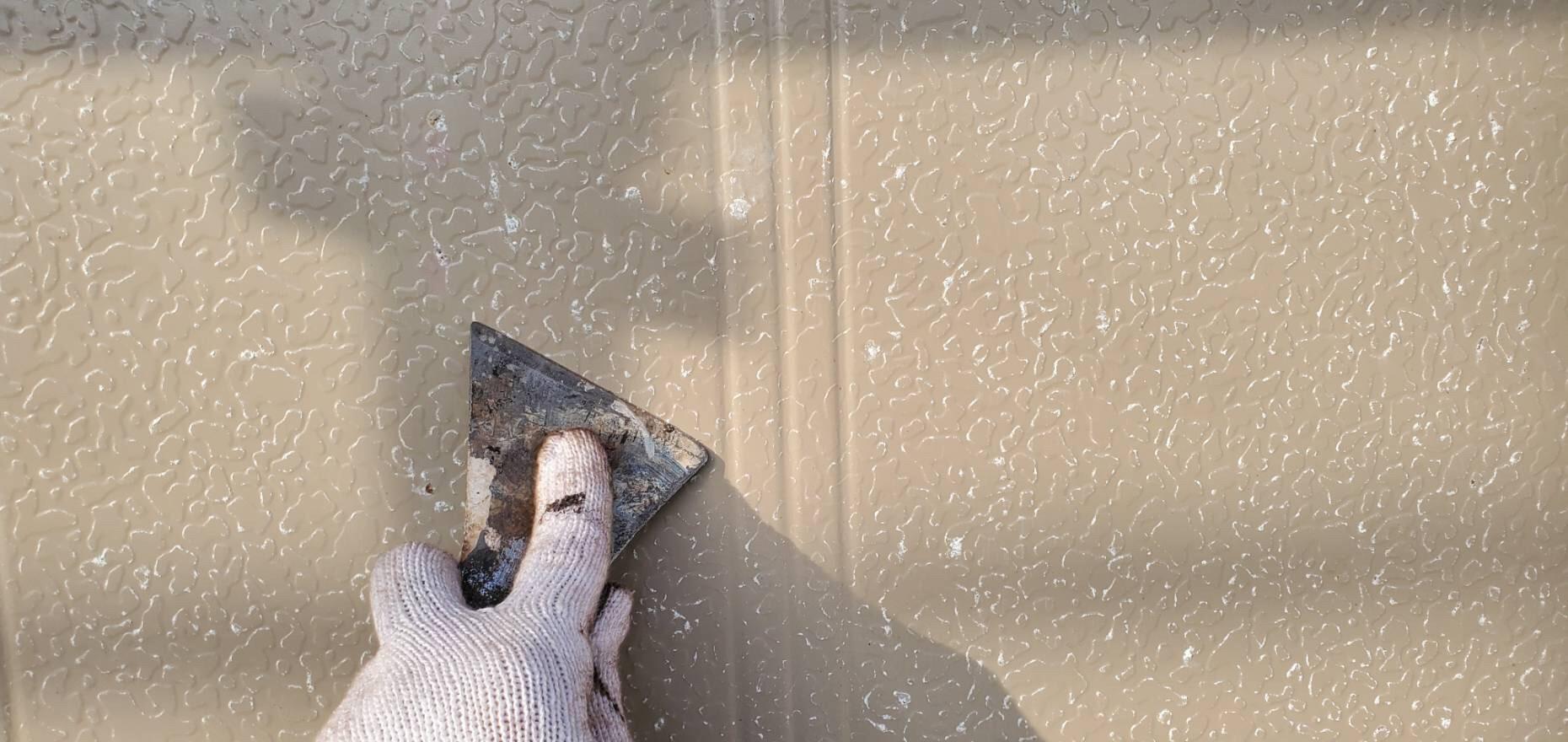 外壁塗装 佐賀 木部 ケレン