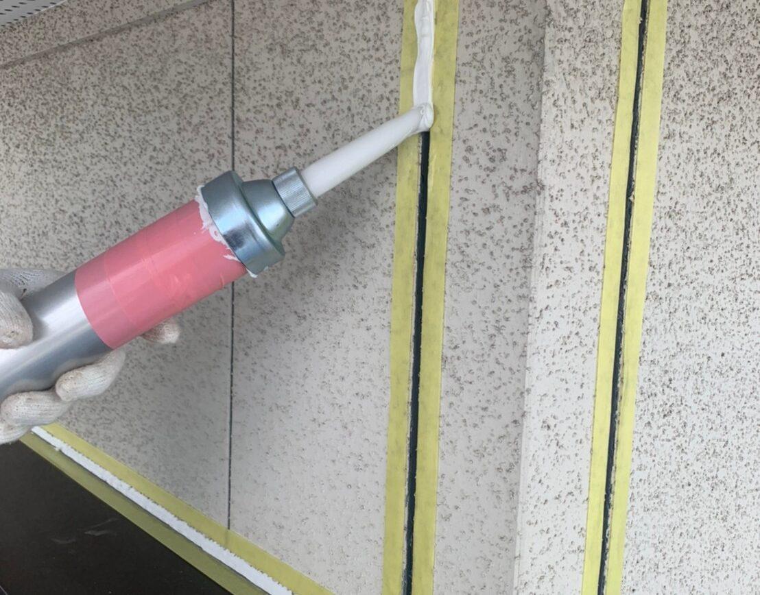 外壁塗装 佐賀 施工事例 コーキング シーリング 打ち直し