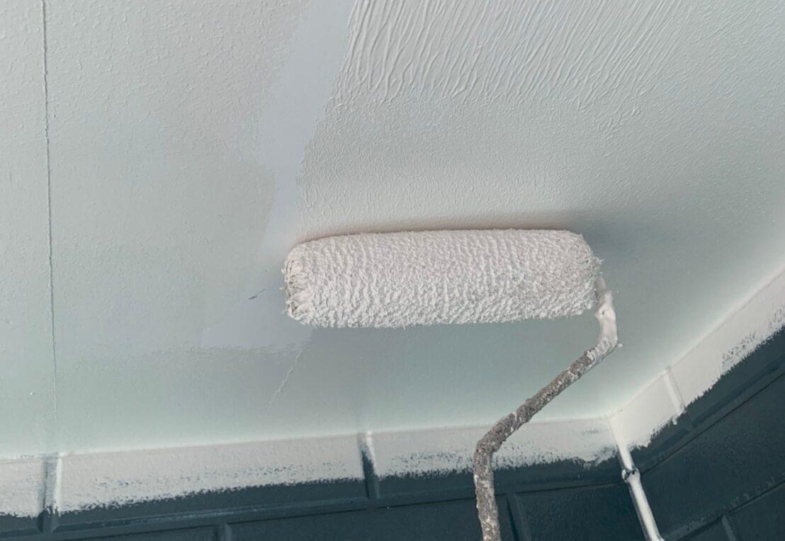 佐賀市 サニー建設商事 サニケン さにけん 塗るばい 軒下天井