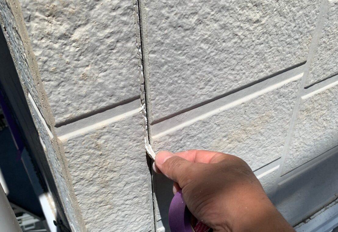佐賀市 サニー建設商事 サニケン さにけん 塗るばい コーキング コーキング撤去 外壁塗装